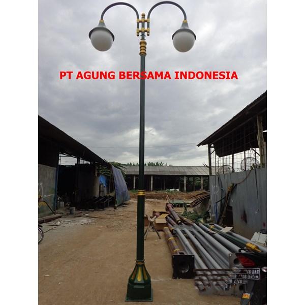 TIANG LAMPU PJU BULAT MURAH