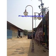TIANG GALVANIS CCTV