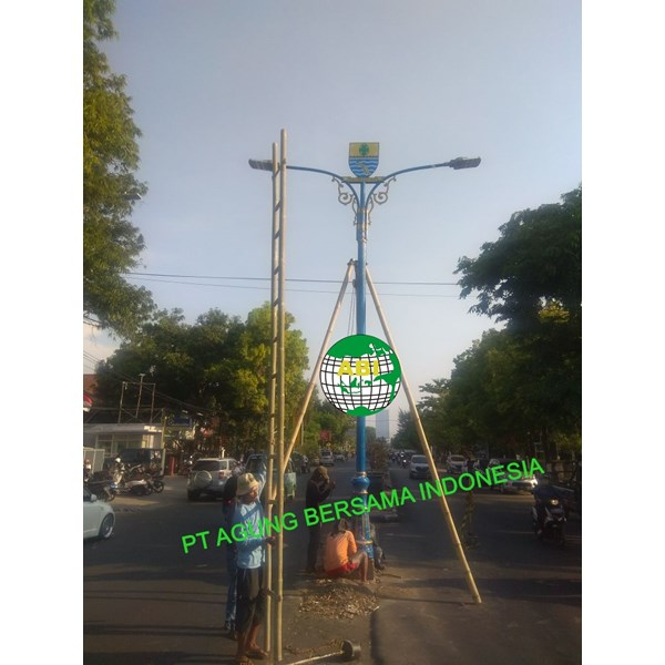 Tiang PJU Antik Kota Bandung