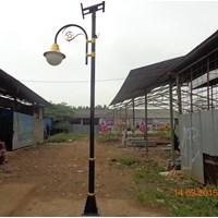 Tiang Lampu Taman Solar Cell 30watt