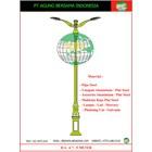 TIANG LAMPU DEKORATIF / Tiang Lampu Taman 1