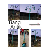 MODEL TIANG LAMPU TAMAN MURAH