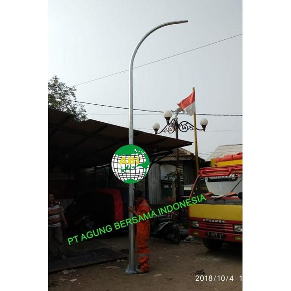 TIANG LAMPU PJU MURAH