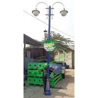 TIANG LAMPU TAMAN DEKORATIF MURAH Cabang 2