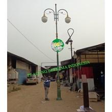 JUAL TIANG LAMPU TAMAN JALAN MURAH