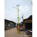 TIANG LAMPU JALAN SOLAR CELL PADANG 1