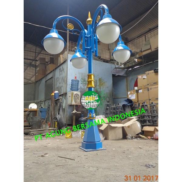 TIANG LAMPU TAMAN ANTIK 4