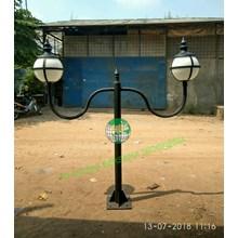 Tiang Lampu Taman Minimalis Polythine