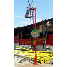 Antique Lamppost of the Gadang House