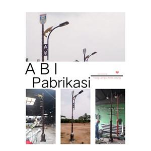 Tiang Lampu Jalan Kota Tangerang