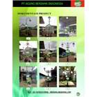 Tiang Lampu PJU Dekoratif Bengkulu 1