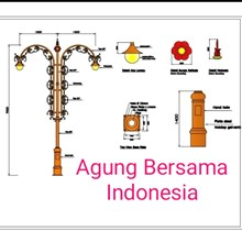 Bengkulu Decorative Antique Light Poles