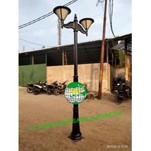 Antique Round Garden Light Pole