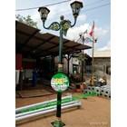 Tiang Lampu Taman Antik Klasik Kota 1