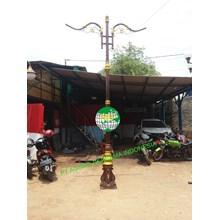 Antique PJU Light Pole ABI 2019