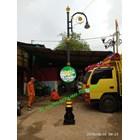 Tiang Lampu antik Taman PJU 1