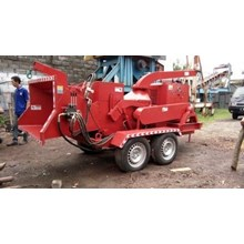 MESIN DRUM WOOD CHIPPER Model BRUSH CHIPPER