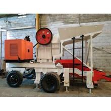 Mesin Pemecah Batu Stone Crusher Mobile Type 1012 Asli Berkualitas & Bergaransi