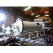 Mesin Ball Mill Untuk Proses Penepungan Atau Penghalusan Mineral