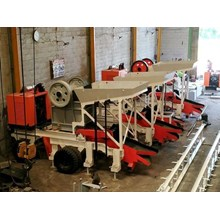 Mesin Stone Crusher Mobile atau Stone Crusher Portable