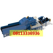 Mesin Wood Chipper & Grinder Standard Industri utk produksi Wood Chip