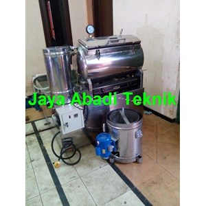 Dari Mesin Vacuum Frying Keripik Buah  30 Kg  1