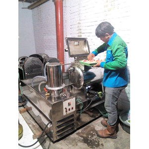 Mesin Vacuum Frying Kap 5 Kg