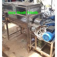 Mesin Mixer Ribbon (Mixer Horizontal) Kap 200 Kg