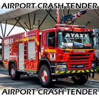 Truk Pemadam Kebakaran Bandara