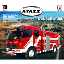 Double Cabin Fire Truck AYAXX