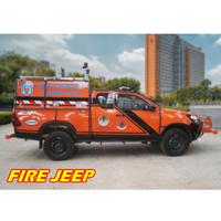 Mobil Pemadam Kebakaran AYAXX Jeep