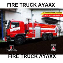Liter Fire Fighting Car AYAXX 10000 Liter