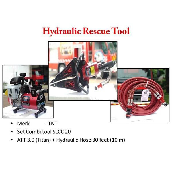 Alat rescue Hydrolik TNT pembuka plat besi