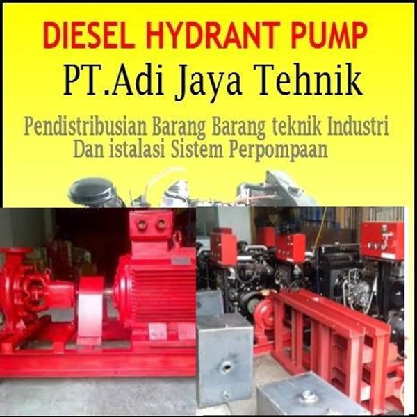 Jual Pompa hydrant  Electrik