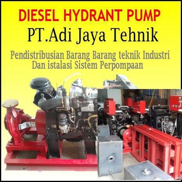 Pompa Hydrant Diesel - Harga pompa hydrant 500 gpm- 750 gpm - 1000 gpm