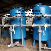 Sand filter dan carbon filter tank- harga sand filter dan carbon filter