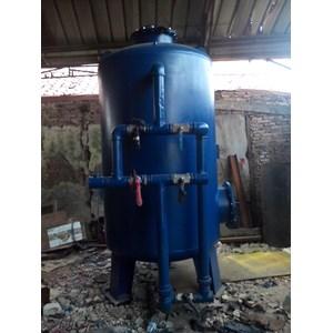 Sand filter dan carbon filter tank