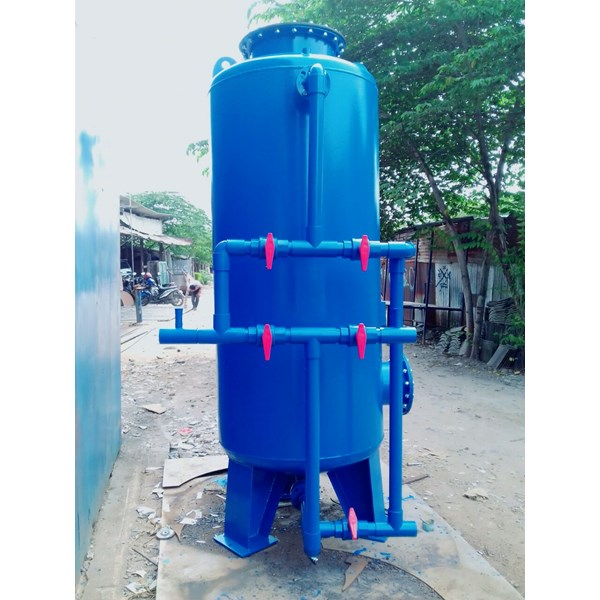 Sand filter tanks and carbon filter tanks
