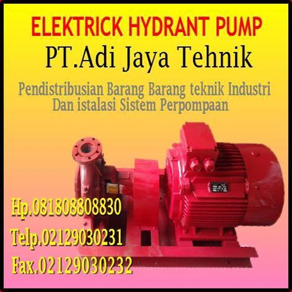 Pompa Hydrant Electrik