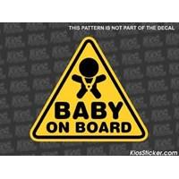 Jual Stiker Baby On Board 03 (BOB-03)