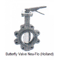 butterfly valve Neu-Flo Holland