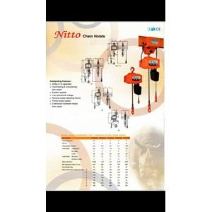 Electric Chain Hoist Nitto Kapasitas 1 Ton sampai dengan 10Ton