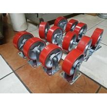 Roda polyurethane ( P.U) 6 Inchi