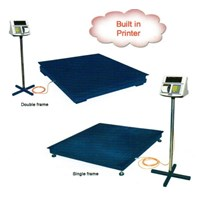 Timbangan Lantai + printer Mkcell  1