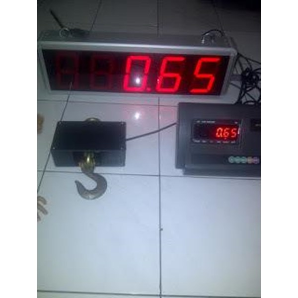 Timbangan + display
