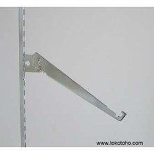 Slanting Glass Bracket Leaves