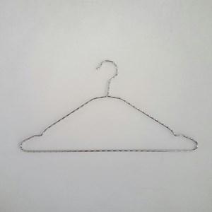 Gantungan Baju Kawat Ulir