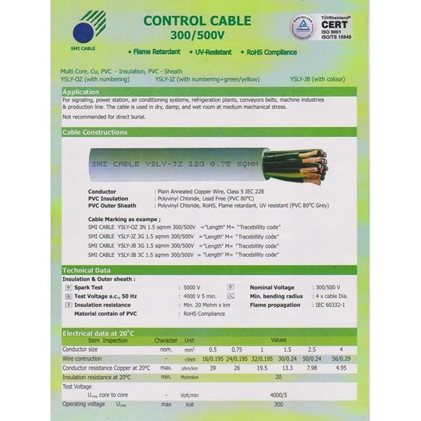 Kabel Kontrol YSLY