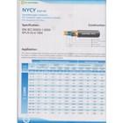 Kabel NYCY merk Yunitomo 1