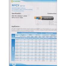 Kabel NYCY merk Yunitomo